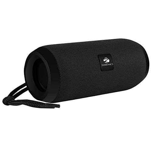 Zebronics Zeb-Action Portable BT Speaker with TWS Function, USB,mSD, AUX, FM, Mic...