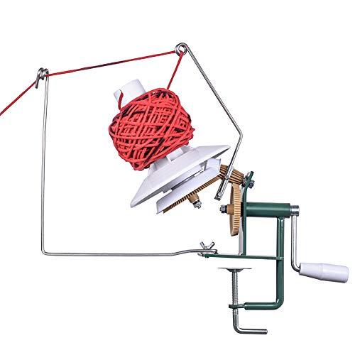 Large Yarn Ball Winder, Metal Fiber/Wool/String Ball Winder Hand...