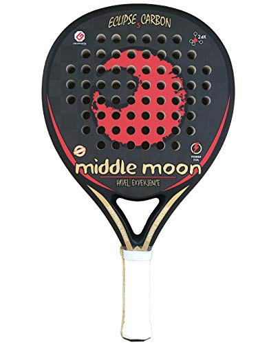 Middle Moon Palas de Pádel Eclipse 5 Carbon 24K 2019
