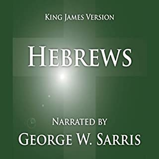 The Holy Bible - KJV: Hebrews cover art