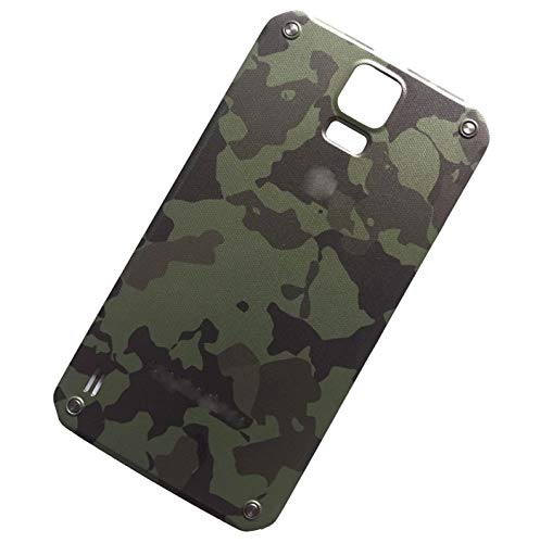 """Ubrokeifixit Galaxy S5 Active G870 Rear Panel Back Door Cover Replacement for Samsung Galaxy S5 Active SM-G870A AT&T 5.1""""(NOT for Galaxy S5/S5 Sport) (Green)"""