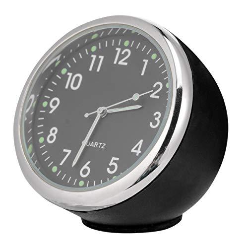 Wakauto Auto Armaturenbrett Uhr Leuchtende Quarz Analoge Uhr Uhr Innenzubehör für Auto Boot Fahrrad nach Hause
