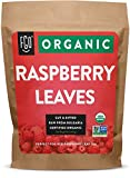 Organic Red Raspberry Leaf | Herbal Tea (200+ Cups) | Cut & Sifted Leaves | 16oz Resealable Kraft Bag (1lb) | 100% Raw From Bulgaria