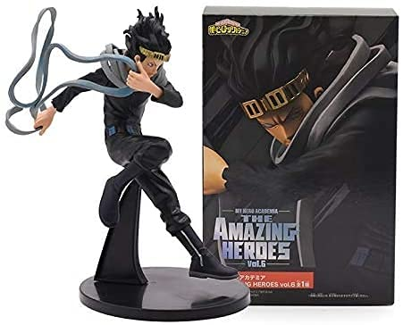 Modelo de dibujos animados 20cm Anime Mi héroe Academia Azawa Shouta Eraser Head Dabi Figuras de Acción Juguete Hero Academia Estatua Juguetes