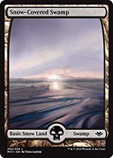 Magic: The Gathering - Snow-Covered Swamp - Modern Horizons