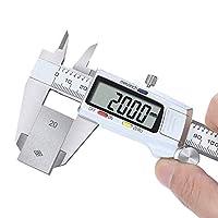 Z-LIANG デジタル ノギス ステンレス鋼製 150ミリメートルステンレススチールデジタルキャリパー高精度ノギス電子Messschieber Schuifmaatはメタルキャリバーを測定します 測定工具 精密作業 DIY (Color : DC01)
