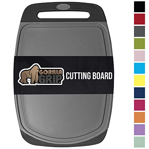 Gorilla Grip Original Oversized Cutting Board, Large Size, 16 Inch x 11.2 Inch