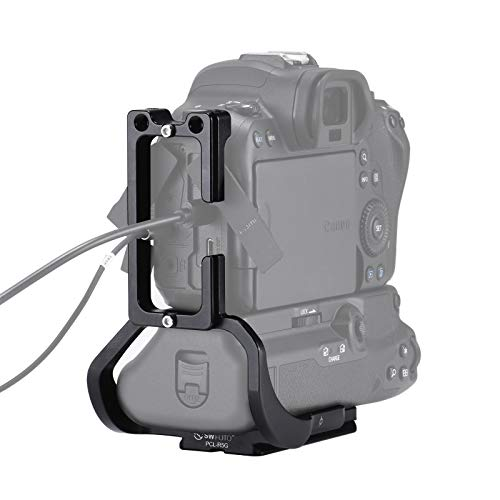 SWFOTO PCL-R5G キャノンR5 / R6バッテリーグリップBG-R10アルカスイスLクイックリリースプレートアルカスイス