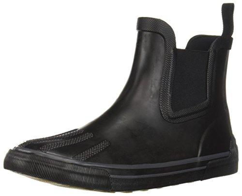 Columbia Women's Goodlife Chelsea Waterproof Rain Boot, Black, Graphite, 9 Regular US