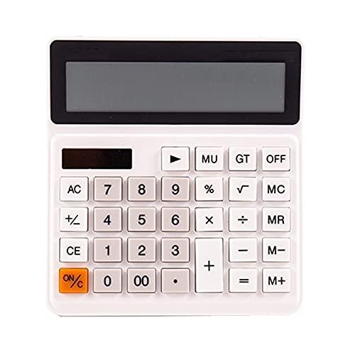 Calculadoras Calculadoras científicas Calculadora básica de la batería solar de 12 dígitos Calculador de...