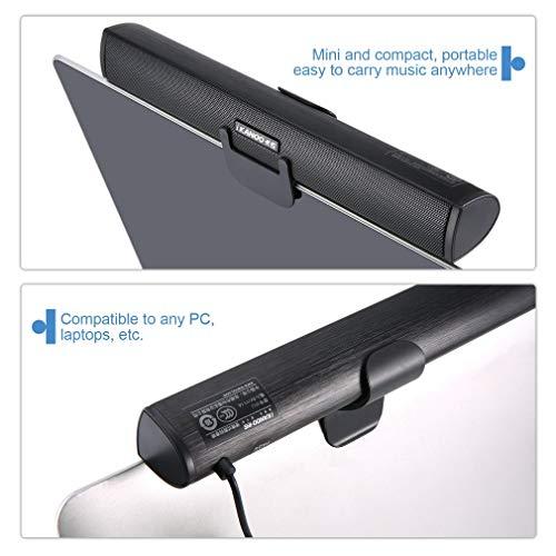 KinshopS Altoparlante Subwoofer Altoparlante Portatile USB per Soundbar N12 per Tablet PC