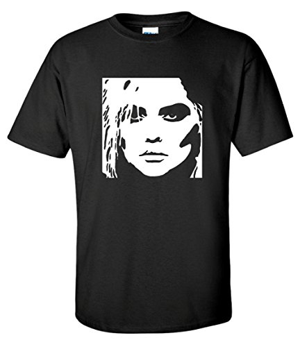 Blondie Debby Harry Face Graphic T-shirt, Men's S to 3XL