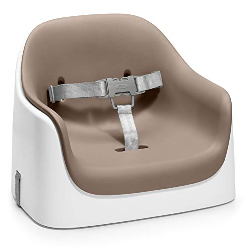 OXO Tot Nest Booster Seat with Removable Cushion, Taupe
