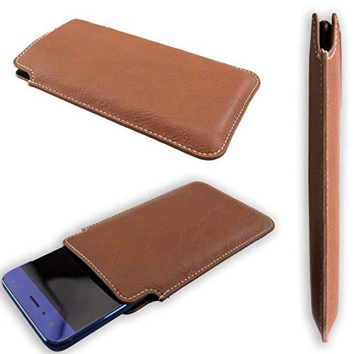 caseroxx Business-Line Etui für Huawei Honor Magic 2, Tasche (Business-Line Etui in braun)