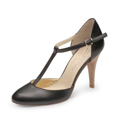 Evita Shoes Damen halboffen Pumps, Schwarz (schwarz), 36 EU