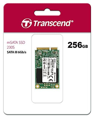 Transcend MSA230S 256GB, disco sólido interno, mSATA III