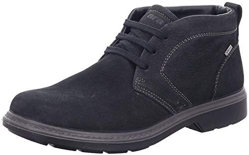 ARA Herren JAN 1124701 Desert Boots, Schwarz (Black 01), 42 EU