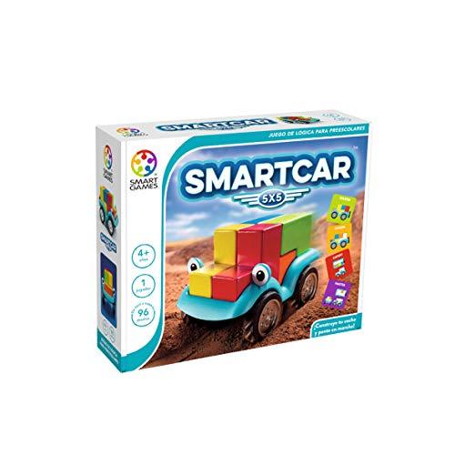 smart games Smart Car 5x5 lógica para niños (SG018ES), Juego Educativo, Juguetes de Madera