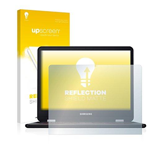 upscreen Entspiegelungs-Schutzfolie kompatibel mit Samsung Chromebook Pro – Anti-Reflex Bildschirmschutz-Folie Matt