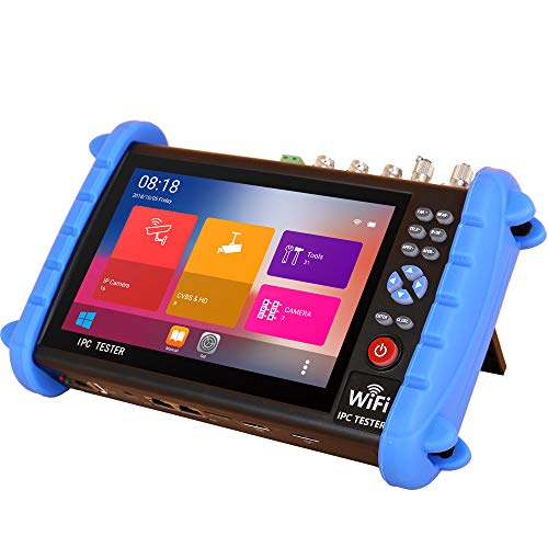 Fantastic Prices! CCTV Tester Pro with 7 Inch Touch Screen-Support IP+Analog+TVI+CVI+AHD+SDI Camera ...