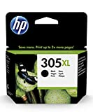 HP 305XL 3YM62AE, Negro, Cartucho de Tinta de Alta Capacidad Original, Compatible con impresoras de inyección de Tinta HP DeskJet Series 2700, 4100; Envy Series 6020, 6030, 6400, 6430