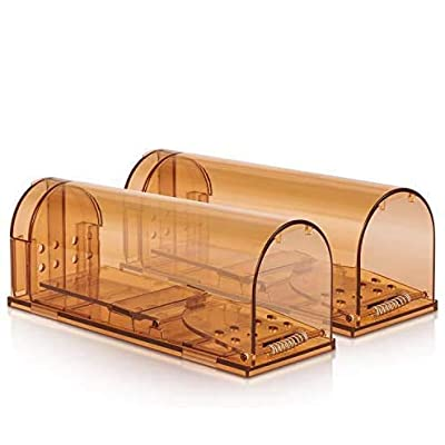EOMOO Mouse Trap, 2 Pack Reusable Humane Smart ...