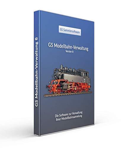 GS Modellbahn-Verwaltung 8 - Software zur Verwaltung Ihrer Modellbahnsammlung - Datenbank Programm zur Verwaltung von Modellbahnen