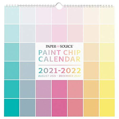 Waste Not Paper, Paint Chip 2022 Wall Calendar