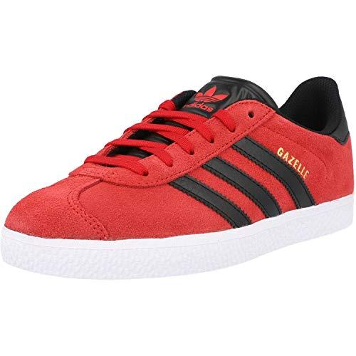adidas Originals Gazelle J Rojo/Negro (Scarlet/Core Black) Cuero 36⅔ EU