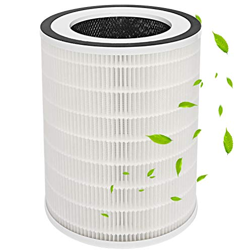 加湿空気清浄機専用交換フィルター 対応品番 MIRO PRO 空気清浄機用フィルター 活性炭フィルター タバコ 花粉 対策 ホコリ除去 HEPAフィルター 集塵フィルター (1枚入り)