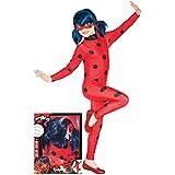 Rubies- Disfraz de Ladybug Prodigiosa 7-8 años, Color, (Rubie'S Spain, S.L. 640485-L)
