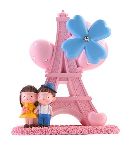 Avighna Fiber Love Couple Musical Showpiece (18 X 16 X 8 cms)