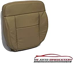 US Auto Upholstery Fits 2004 Ford F150 Lariat 4x4 Quad Cab Fx4 2wd Driver Bottom Leather Seat Cover Tan