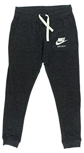 Nike Damen Jogginghose Gym Vintage, Schwarz (Black/Sail), XL, 726061-010