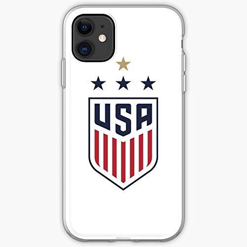 Compatible con iPhone Samsung Xiaomi Redmi Note 10 Pro/Note 9/8/9A Funda i Soccer USWNT National Us Womens Team Cajas del Teléfono Cover