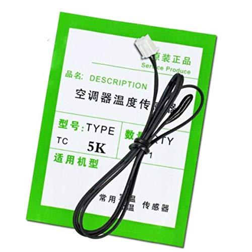 Sonda de sensor de temperatura de aire acondicionado accesorios de cabezal de detección de temperatura 5k 10k 15k 20k 30k 50k-cabezal de plástico