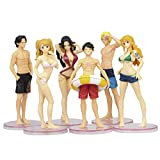 QAL One Piece Anime Action Figure Swimsuit Luffy Nami Sabo Model Character Decoration Doll Statue Figurine Collectible Role Toys 12CM