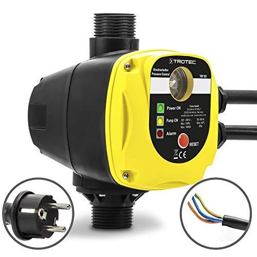 TROTEC Interruttore di pressione elettronico TDP DS controllo automatico della pompa dell'acqua monofase prive di spina elettrica