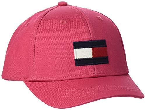 Tommy Hilfiger Big Flag Cap Gorra de béisbol, Rojo (Blush Red Xif), Large Unisex Adulto