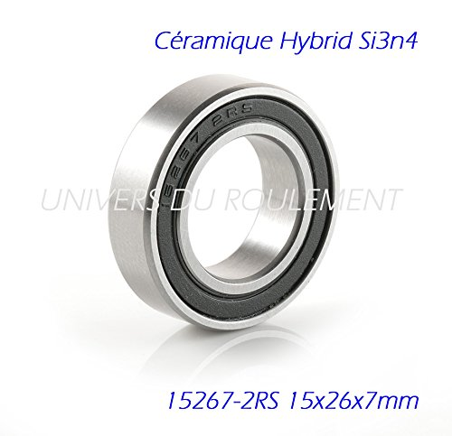 CUSCINETTO A SFERE 15267 2RS 15 X 26 X 7 CM, CERAMICA SI3N4 SHIMANO CYCLING MOUNTAIN BIKE