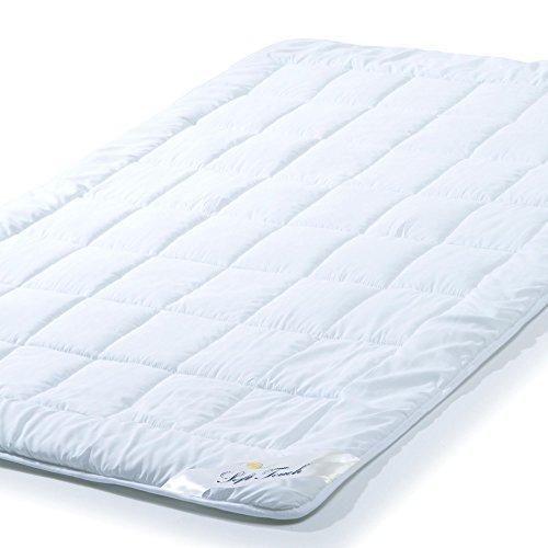 Soft Touch Ganzjahres Bettdecke 135 x 200 cm - Atmungsaktive Steppdecke für Sommer und Winter