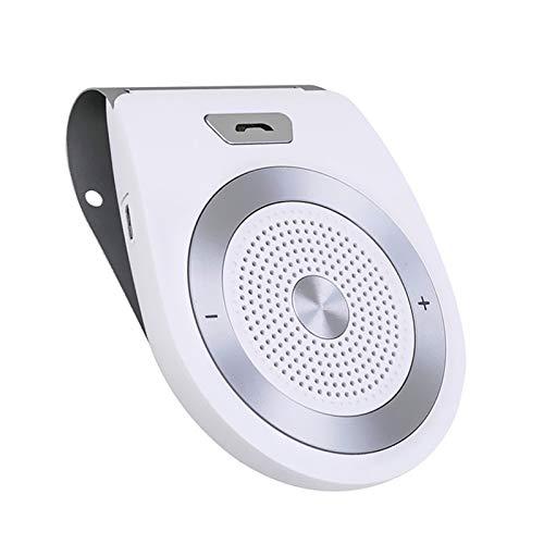 Aigoss AUTO POWER ON Kfz Freisprecheinrichtung Bluetooth Auto Freisprechanlage Visier Car Kit mit eingebautem Bewegungssensor, Unterstützt Musik GPS Freisprechfunktion für Handys