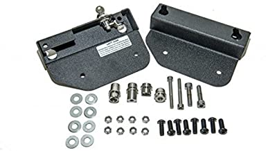 Easy Brackets Quick Release Saddlebag Mounting System for Indian Scout and Spirit (With OEM Detachable Backrest)