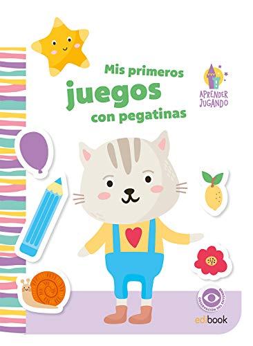 APRENDER JUGANDO - LIBRO DE PEGATINAS - Nº 4