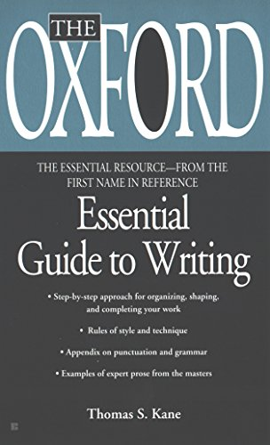 The Oxford Essential Guide to Writing (Essential Resource...