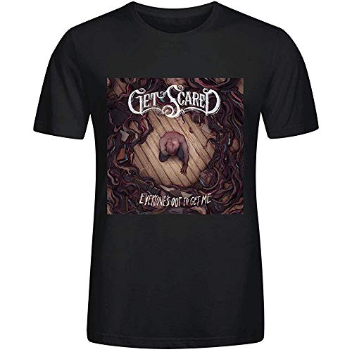 Get Scared Everyones Out to Get Me T Shirts Mens M