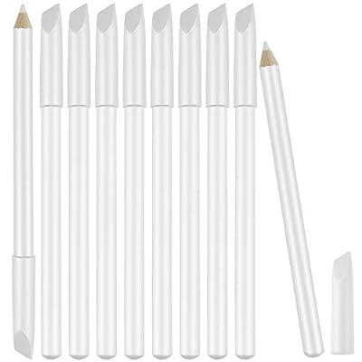 10 Pieces White Nail