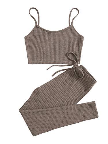 SOLY HUX Conjunto de camiseta y leggings...