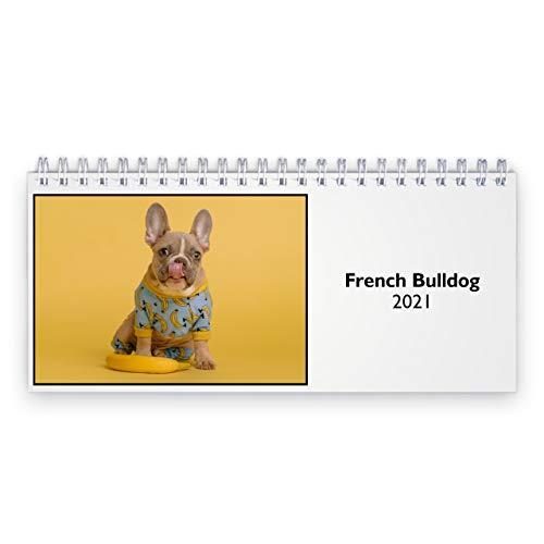 French Bulldog 2021 Desk Calendar