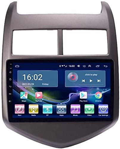 Android 10.0 Auto Stereo Radio per Che Vrolet Aveo Sonic 2011-2013, Sat NAV GPS Navigation DSP supporta GPS 4G WiFi AMP USB Bluetooth 5.0 Carplay